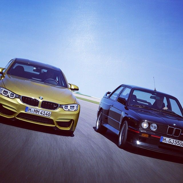 Passato e presente vivi dentro noi. #BmwM3 @BMW