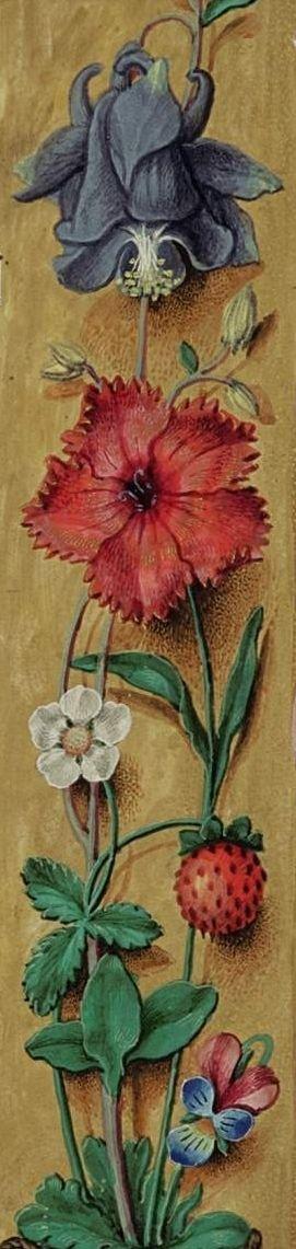 Libro d'ore Rothschild, Fiandre, 1500-1520. Collezione privata / The Rotschild Prayerbook, Flanders 1500-1520. Private Collection