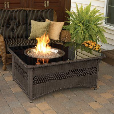 Outdoor Greatroom Company NAPLES CT B K Naples Fire Pit Coffee Table