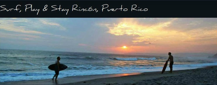 Rincon PR - General Surf Beach Information - The principal surfing beaches in Rincon PR are listed here from south to north. Remember that winter and summer conditions differ dramatically. For instance, the best snorkeling spot in the calmer summer months is The Stairs, which is right next to the strongest surf break in the winter, Tres Palmas. For more information on all of Rincon, Puerto Rico please visit www.surfrinconpr.com