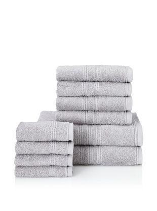 66% OFF Chortex 10-Piece Imperial Bath Towel Set, Steel