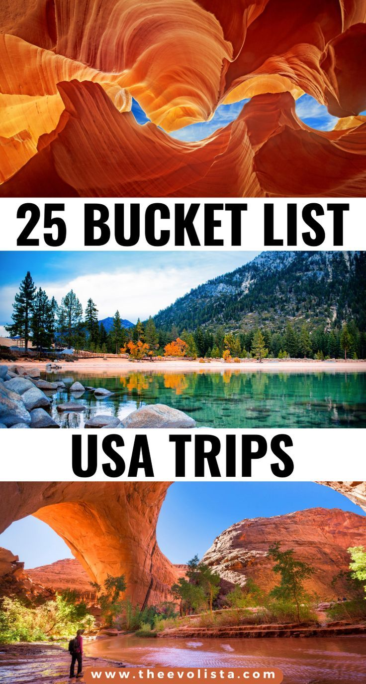 25 Bucket List Usa Trip Ideas You Ll Love The Evolista Cool Places To Visit Travel Usa Road Trip Usa