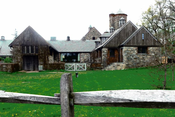 Blue Hill Stone barns John D Rockefeller donated to state for agricultural center, organic farming. Outstanding! A must to visit.