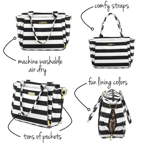 Shop for the best rated trendy diaper bags at ju-ju-be.com. Free gift with…