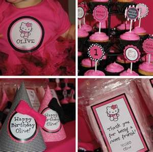 Hello Kitty 1st. Birthday party ideas | Hello Birthday Girl! | Parents