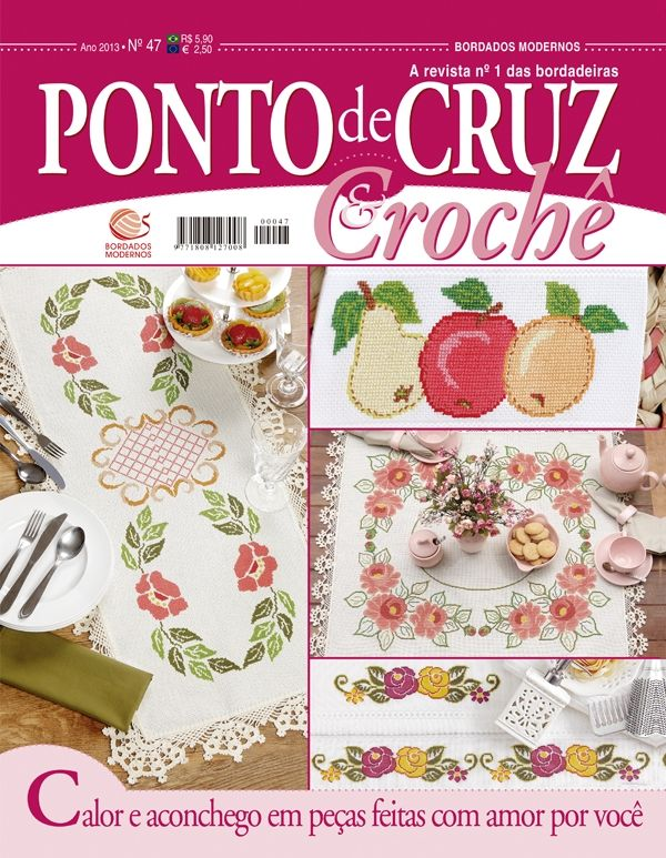 Reembolso Central :: Ponto de Cruz & Crochê nº 47