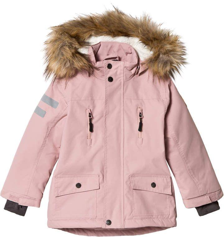 Kuling Zephyr Rose Pink Val Thorens Outdoor Winter Parker Girls Jacket Promotion Kids Jacket Uv Clothing Ski Jacket