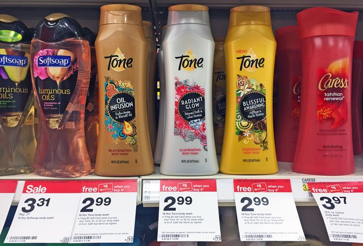 Tone Body Wash, Only $0.74 at Target!