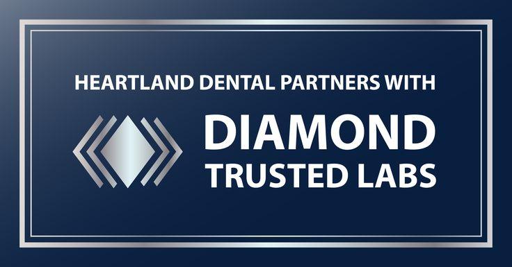 Heartland Dental Shines Bright With Diamond Trusted Lab Partner Expansion Dental Medical Careers Dental Hygienist