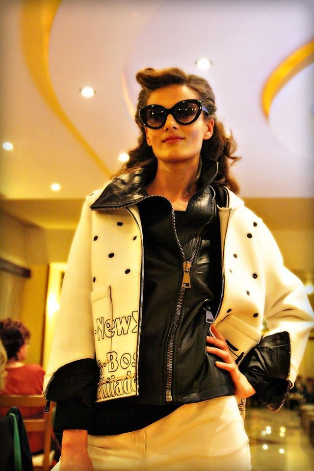 MIMI D.lux Fashion & Beauty Boutique charity fashion show with Inner Wheel Kavala club - Nov 2015