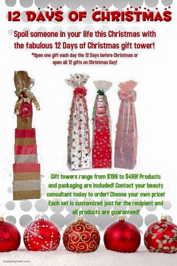 152 best mary kay sales gift basket ideas images on pinterest theres no better gift than the 12 days of christmas open a christmas gift every day starting from dec you choose your price and what you want in your negle Gallery