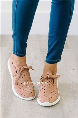 Dusty Rose Sneakers Fall Footwear, cute shoes, boutique shoes, high heels, sandals, cute sandals, heel sandals, mint shoes, modest dresses, modest clothes, best modest boutique, cute modest clothes, church clothes, church dress, dresses with sleeves