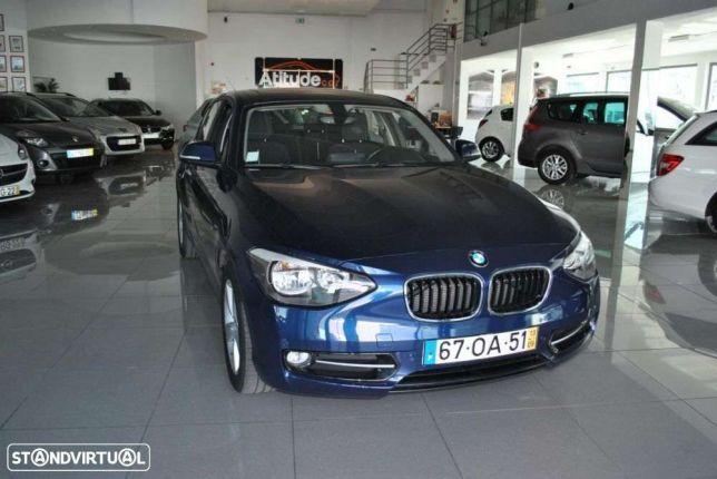 BMW 116 d Line Sport preços usados
