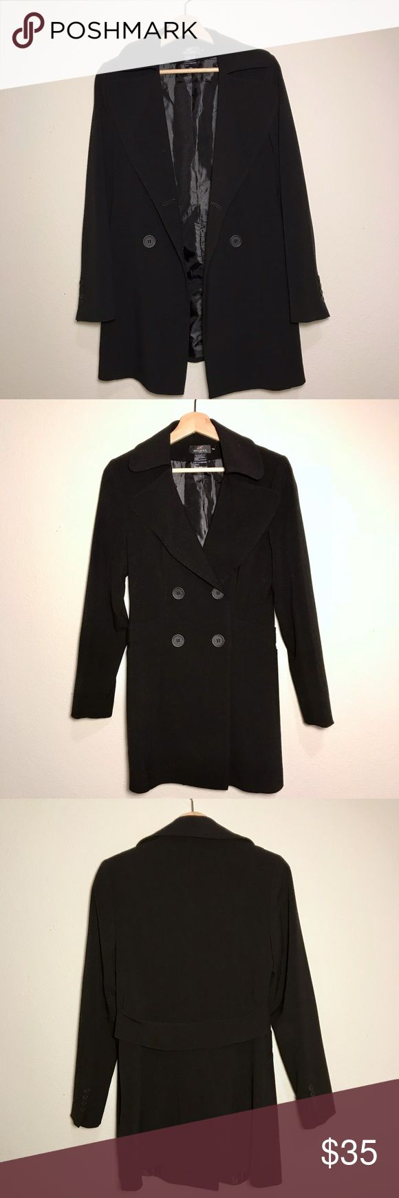 Women's Black Trench Coat Perfect coat for the fall. Not to thick, not too thin, just right. Jackets & Coats Trench Coats