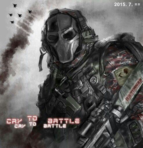 Cry to Battle (Photoshop cs3)