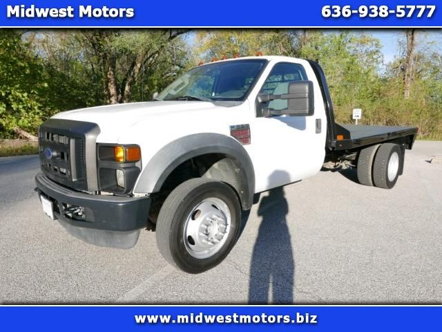 Used 2008 Ford F 550 Regular Cab 4wd Drw For Sale In St Louis Mo 63025 Midwest Motors F550 With Cm Rd Flatbed For
