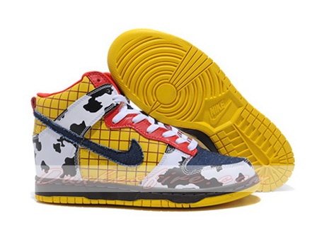 Nike Dunk High Toy Story Sheriff Woody Colorful Shoes - Wholesale & Outlet  Tag: Discount Nike Dunk High Shoes sale, Original Nike Dunk High Premium  sneakers ...
