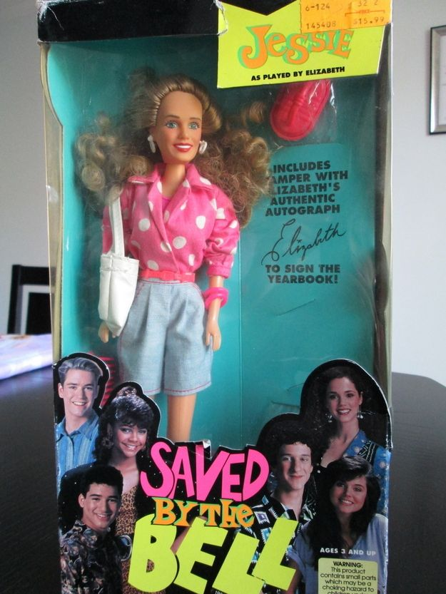 Jessie doll from Saved by the Bell