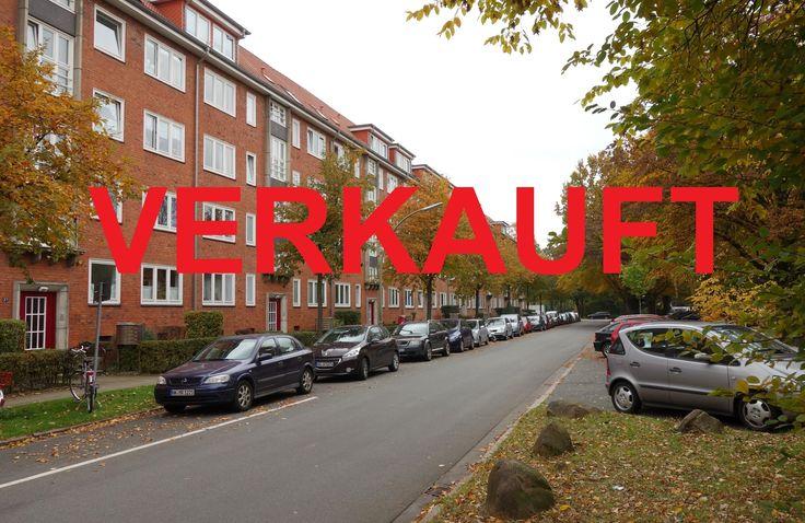 VERKAUFT: Vermietete 2 Zi.-ETW in TOP-ZUSTAND in Hamburg-Eilbek. www.wohnschmiede-hamburg.de