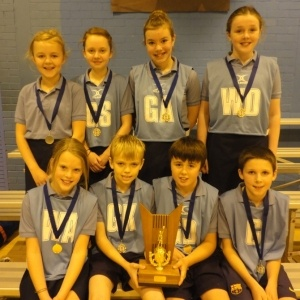 Denholm Primary school shoots for netball success  and wins the 2012 Small Schools Mixed Netball Tournamnet in Scotland.