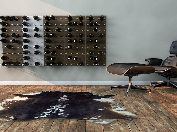 Installing The STACT Modular Wine Storage System via Design-Milk
