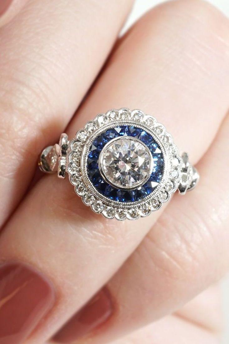 39 best Two-Tone Custom Engagement Rings images on Pinterest ...