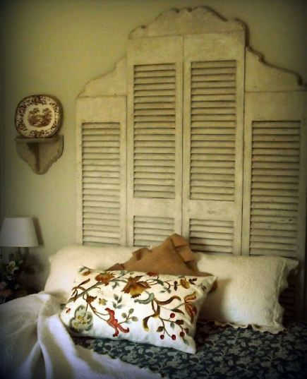 repurpose large shutters - Google Search