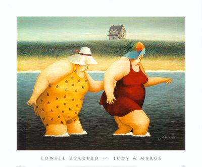 This is Judy and Marge.......love these girls,,,,Lowell Herrero
