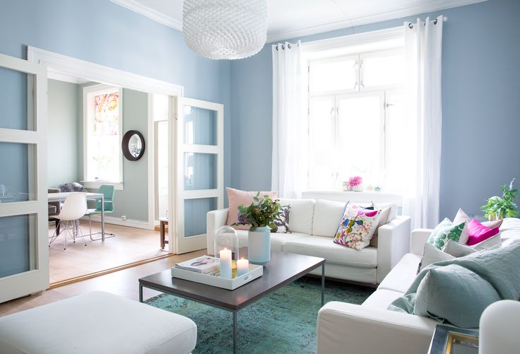 rikkesroom, blue, living room