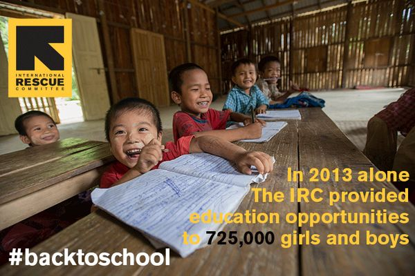 In 2013 alone we provided education opportunities to 725,000 girls and boys #backtoschool http://bit.ly/1mFDDsu