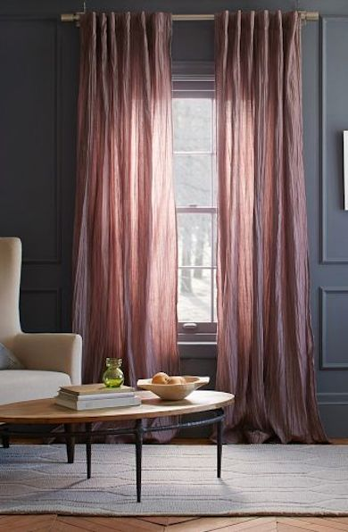 sugar plum curtains except with white walls http://rstyle.me/n/i83ivr9te