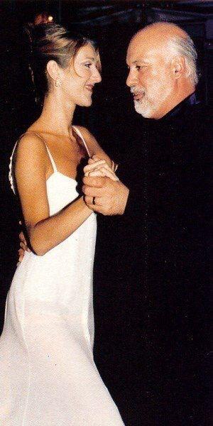 ♫Celine Dion and husband Rene Angelil