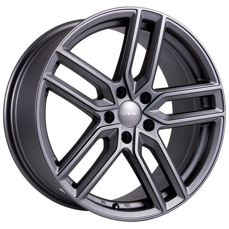 RTX Wheels - RTX OE - Vaden Gunmetal Grandeur/Size : 16X7 / 17X7.5 / 18X8 / 19X8.5 http://www.rtxwheels.com/en/wheels/rtxwheels-vaden-gunmetal
