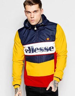 Ellesse Overhead Jacket With Large Logo