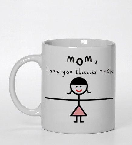 mom i love you this much #mug #ceramicmug #ceramic #coffemug #teamug #cup #funnymug