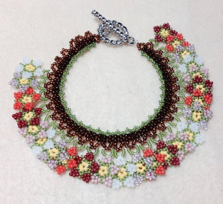 (Tutorial) Summer Blossom Neck/Bracelet PART 1 (Video 49)