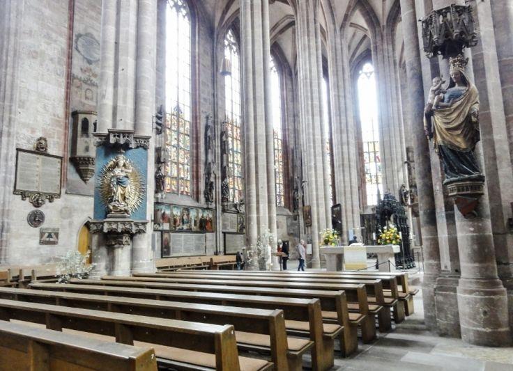 "Inside St Sebaldus Church, Nuremburg, Easter 2012. Read ""Easter in Germany: Bavaria"", on my short story blog."
