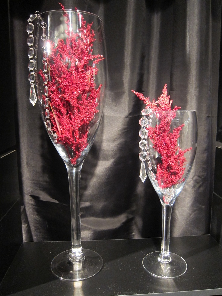 58 best images about do it yourself centerpieces on for Do it yourself wine glasses