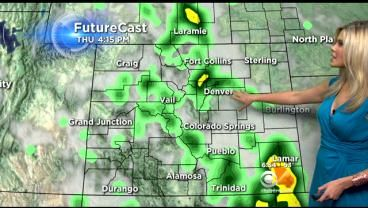 Thursday's Forecast: More Severe Weather Possible « CBS Denver
