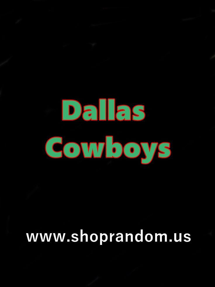 Sharing Cowboys Gear for sale, articles found, and all other things related to the Cowboys #Romo #Cowboys #Dallas