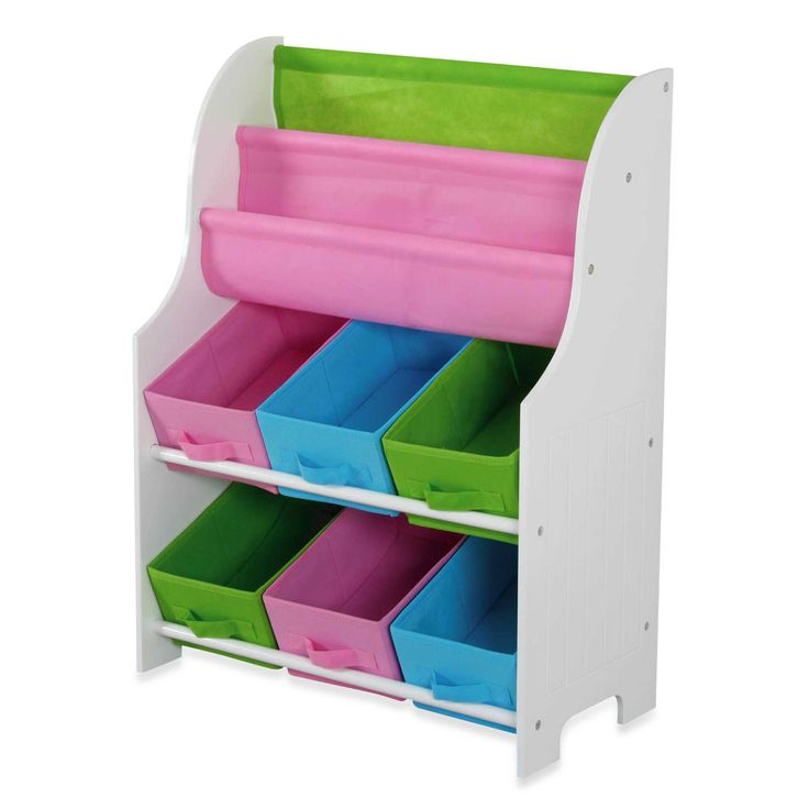 HDS Trading Large Book Holder U0026 Storage Shelf   BedBathandBeyond.com