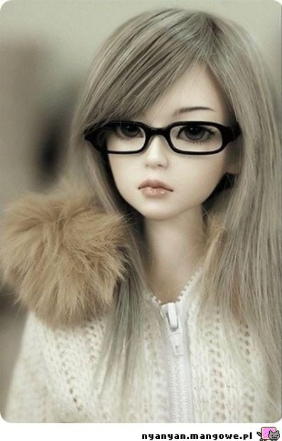 grafika doll, glasses, and bjd