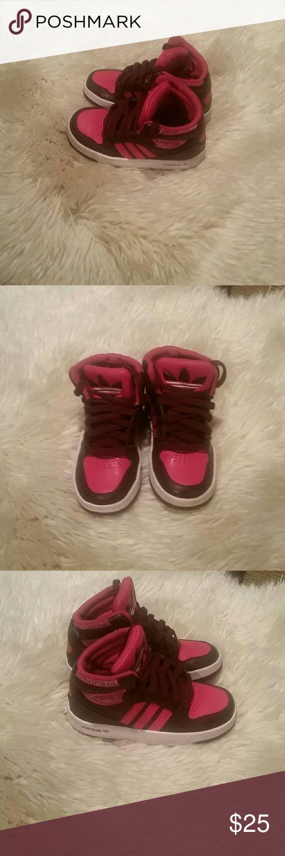 Adidas Pink and maroon adidas Adidas Shoes