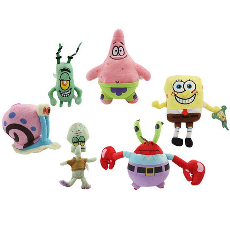 15cm - 20cm SpongeBob Doll Toys, Patrick, Mr Krab, Plankton, Squidward, Gary Snail - Buy this stuff here: https://www.bikinibottomstore.com/spongebob-doll-toys-patrick-mrkrab-plankton-squidward-gary/ -   #spongebob #patrick #squidward #merchandise #goods #bikinibottom #party #balloon #home #interior #bedroom #bathroom #dolls #toys #aquarium #ornament #travel #cartoon #anime #hero #onlineshop #products #supplier