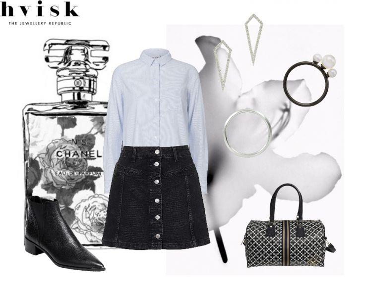 Outfit inspiration #outfit #outfitinspiration #hvisk #hviskcreate #hviskstylist #fashion #jewellery #hviskjewellery #smykker