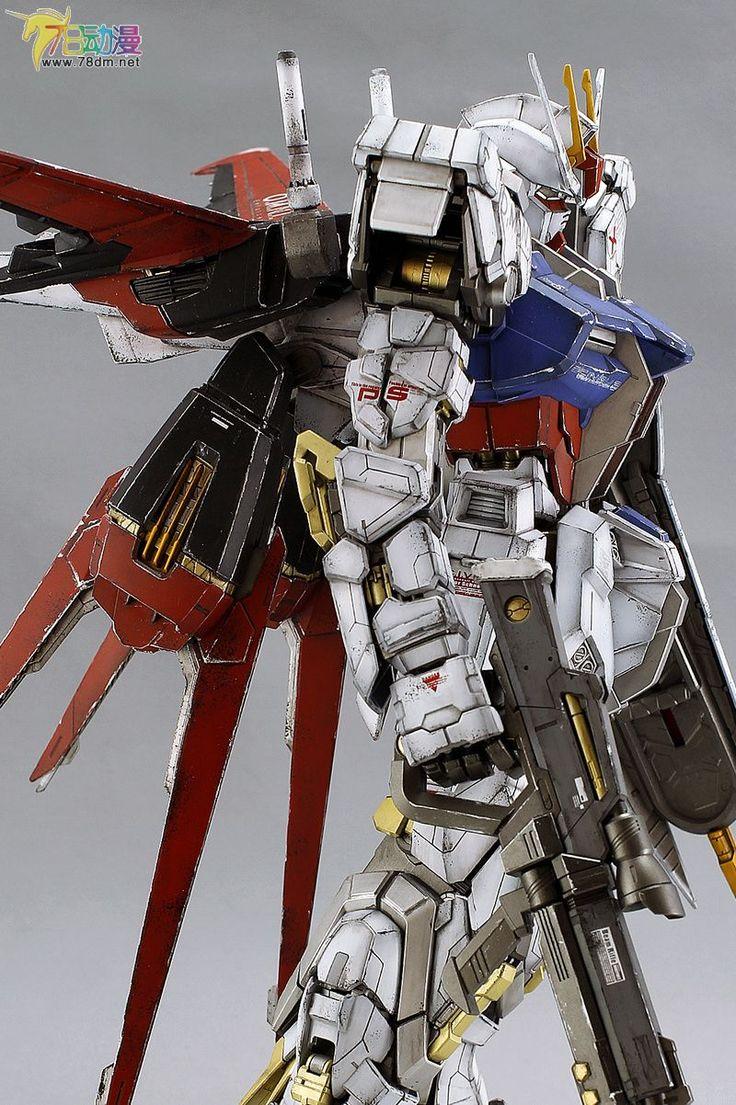 PG 1/60 GAT-X105 Aile Strike Gundam - Painted Build   Modeled by meepo小福