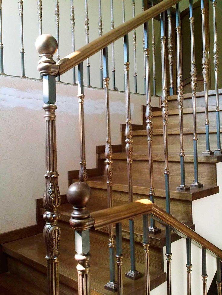 кованые балясины лестниц картинки своей работе