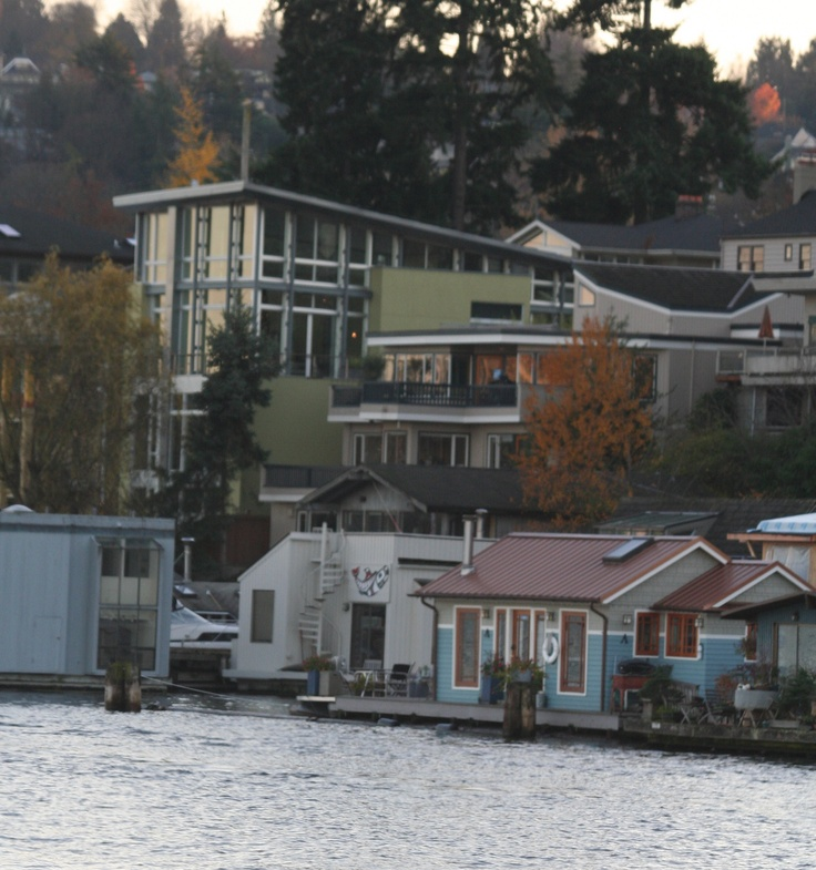 146 best images about decor best floating homes on pinterest downtown seattle washington and - Floating house seattle ...