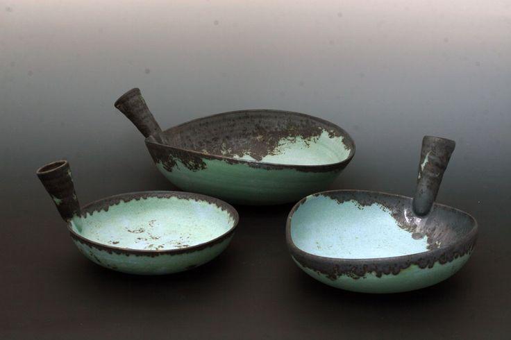Magda Bethani Ceramics - Pan Shaped Bowls