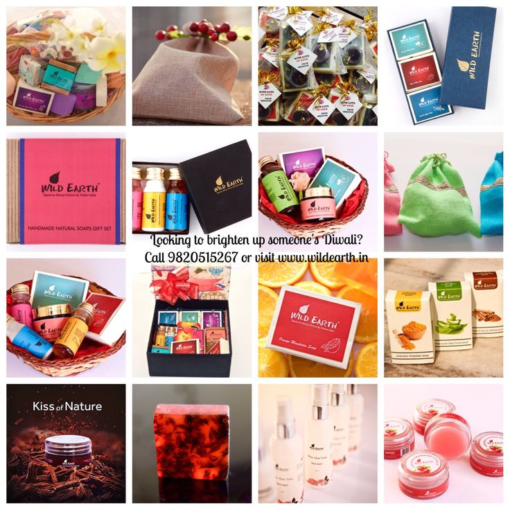 Corporate Gifting for Diwali. Gift right, Gift nature. Natural bath & body sets for his and hers.